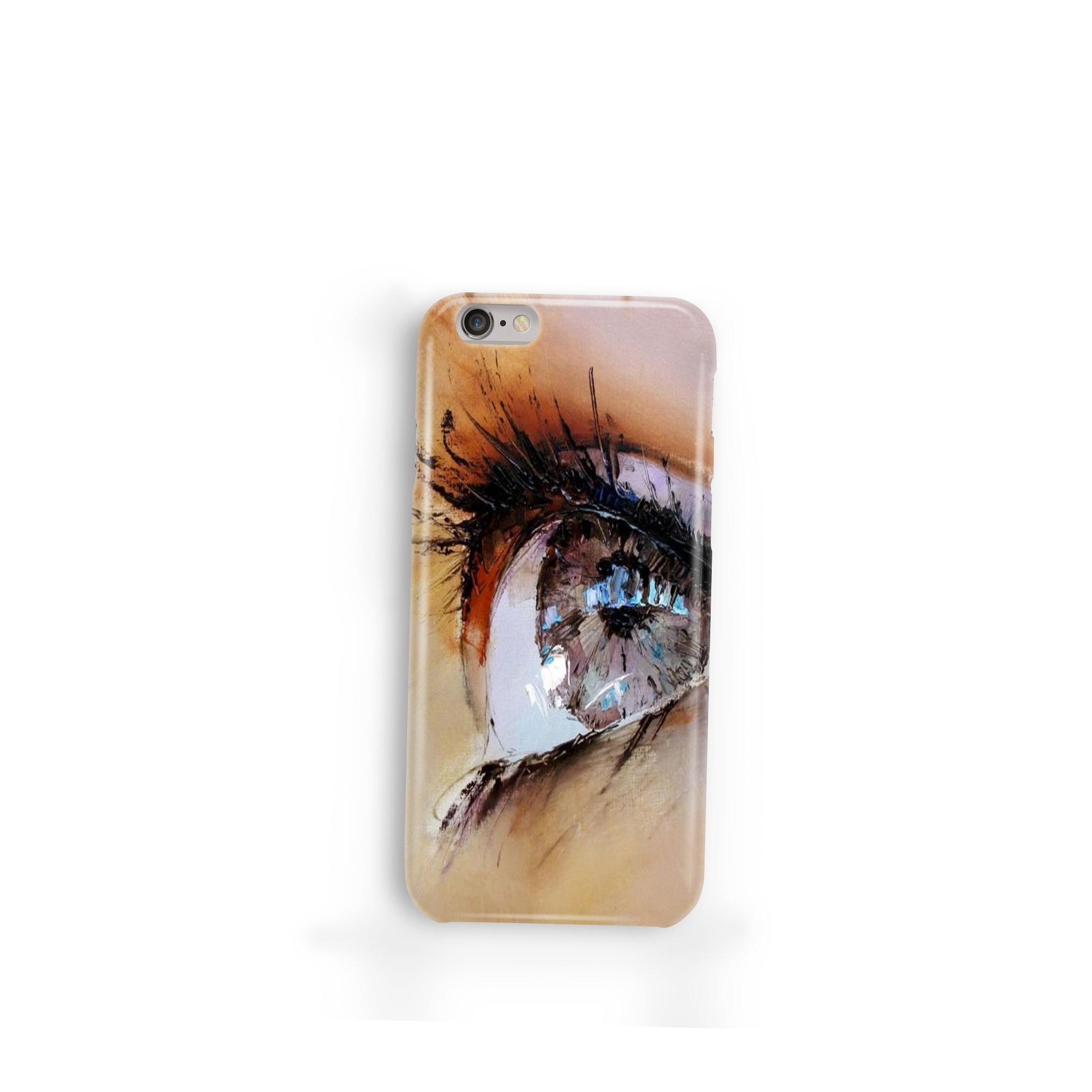 Vision Silicon Customized Mobile Phone Cover