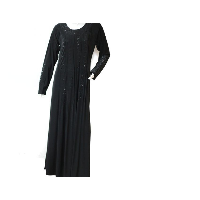 Black Jersy Abaya for Women