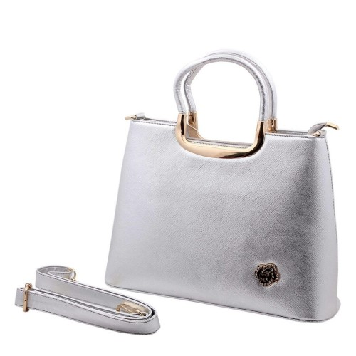 Pineapple Ladies Handbag (Silver)