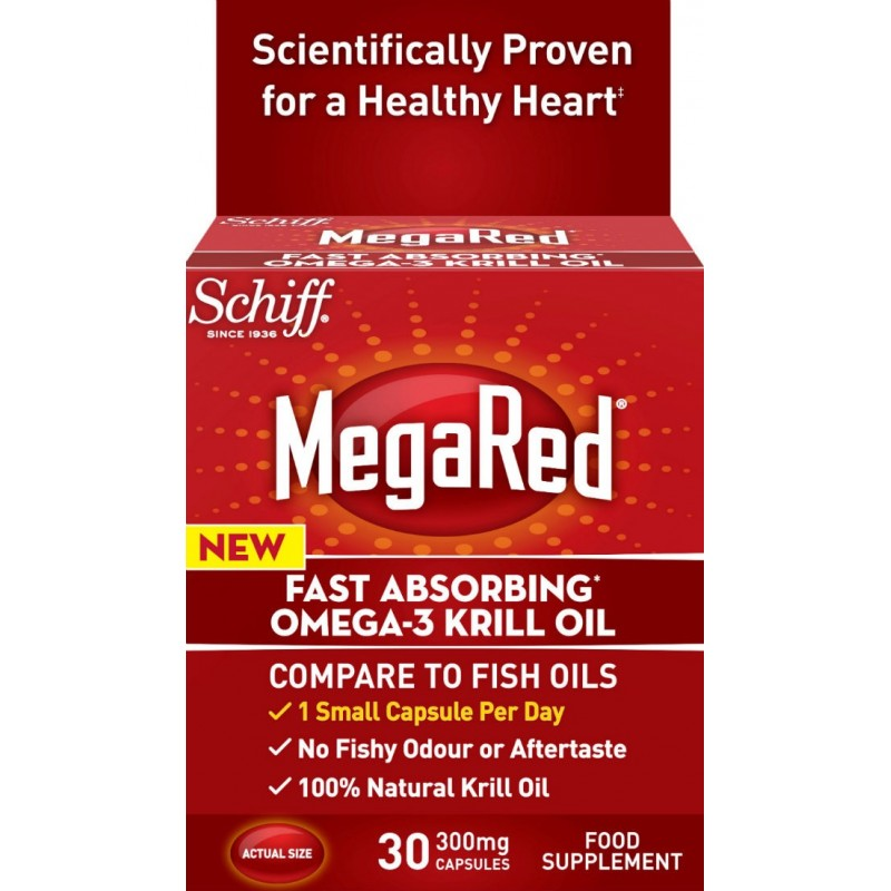 Schiff® MegaRed™ 300 Mg Omega-3 Krill Oil