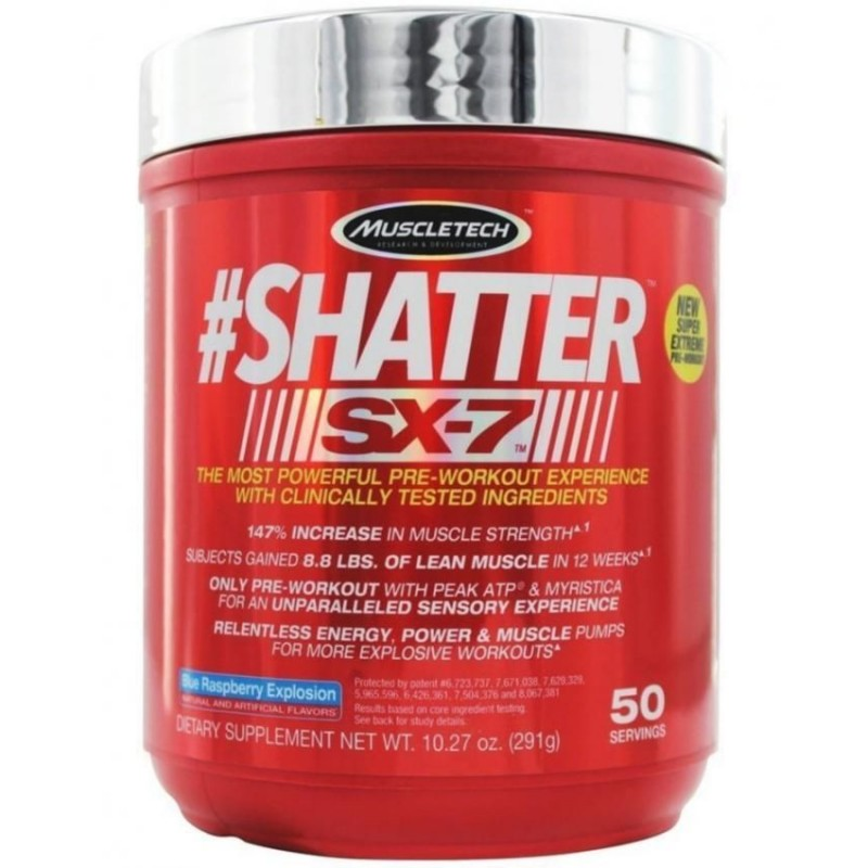 Muscle Tech Shatter SX-7 - 50 Servings