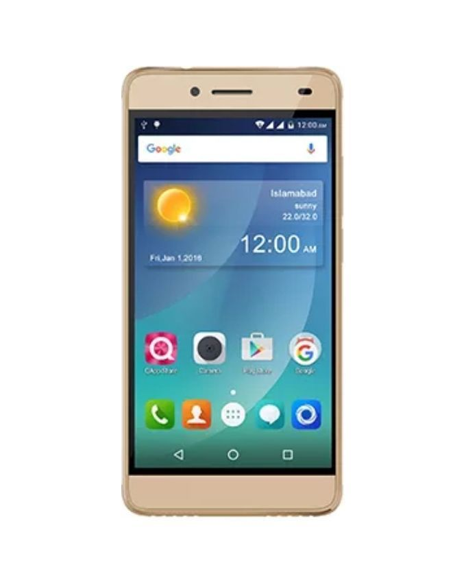 QMobile X700 Pro - Dual Sim - 16GB ROM - 2GB RAM - 5MP Camera - Gold