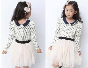 Girls Dot Frock