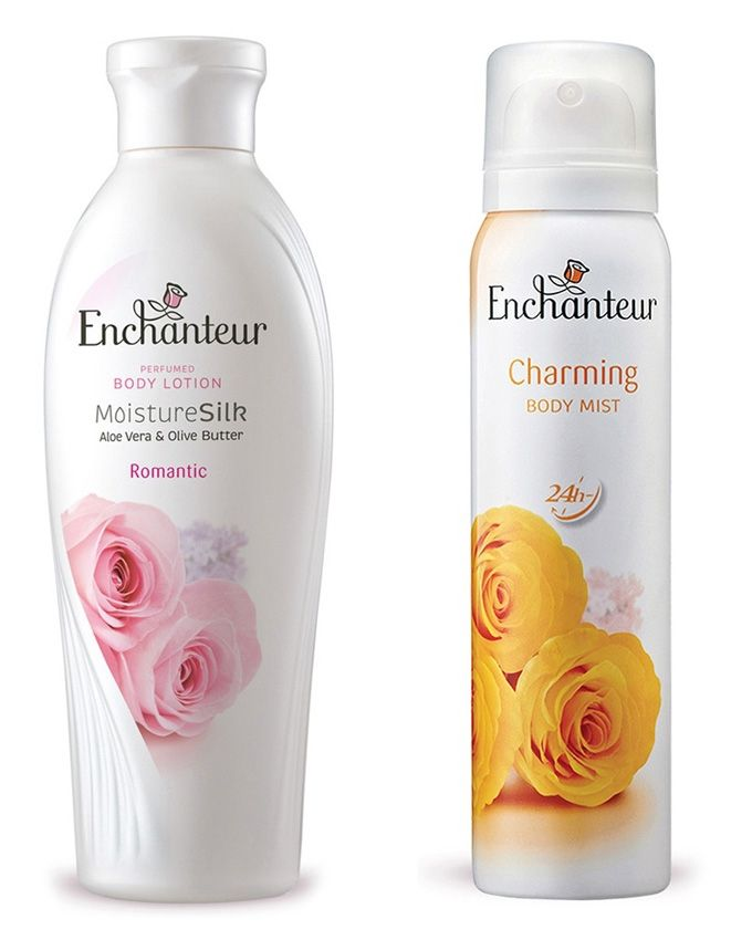 Enchanteur Pack of 2 - Lotion & Body Mist For Women - 150ml