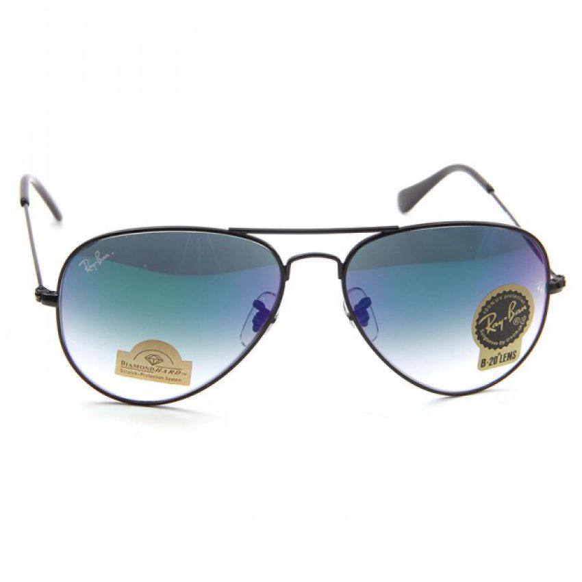 RB Aviator Large Metal Sunglasses
