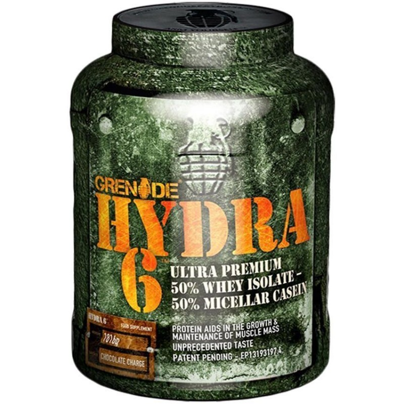Grenade Hydra 6 - Chocolate Charge - 4 lbs