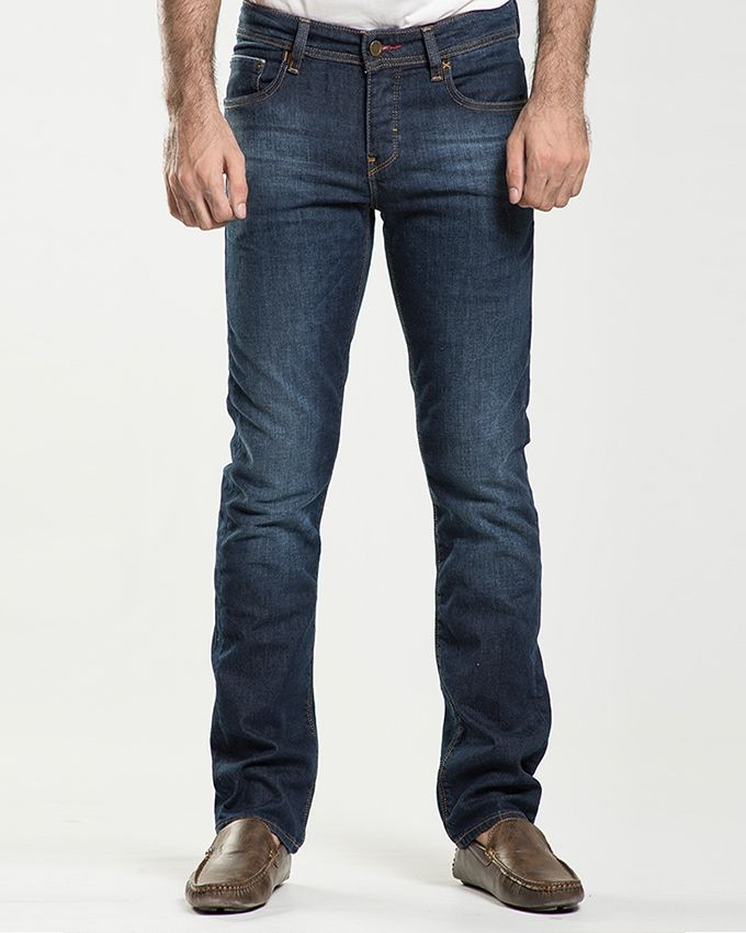Stoneage Medium Blue Denim Lagun Jeans For Men