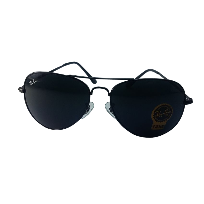 Ray Ban Aviator Black Sunglasses for Men
