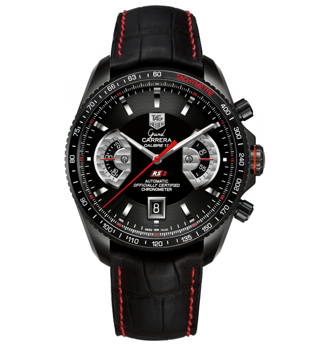 TAG Heuer Carrera Calibre 1887 Racing Chronograph 43mm Watch-Black