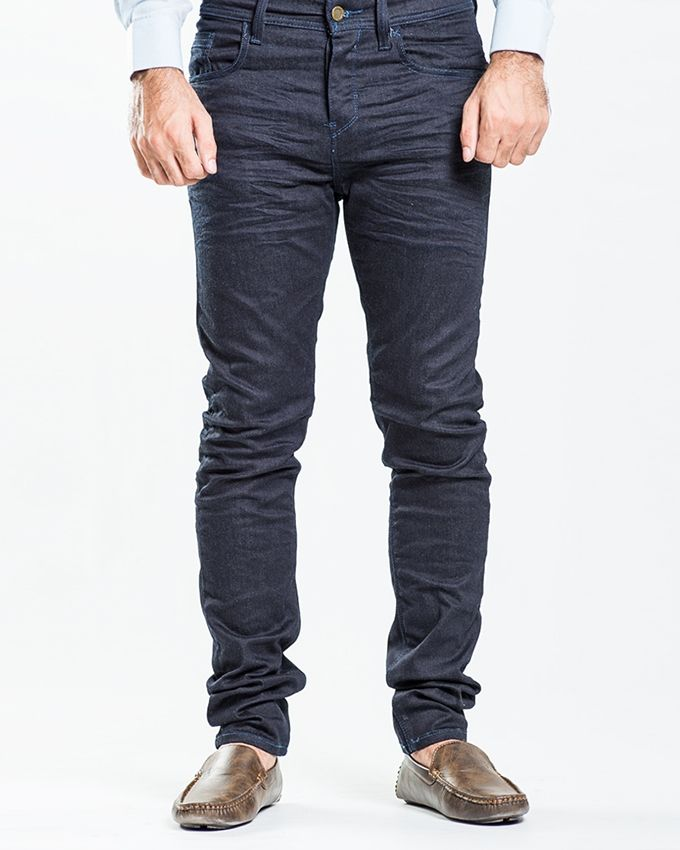 Stoneage Dark Blue Denim Copal Jeans For Men