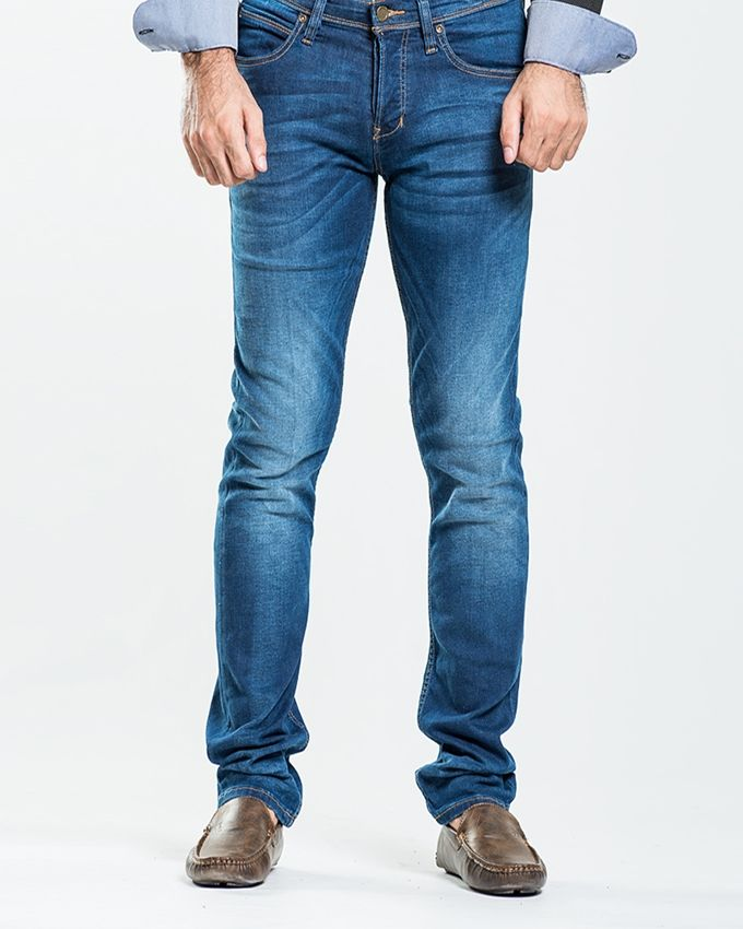 Stoneage Light Blue Denim Lender Jeans For Men