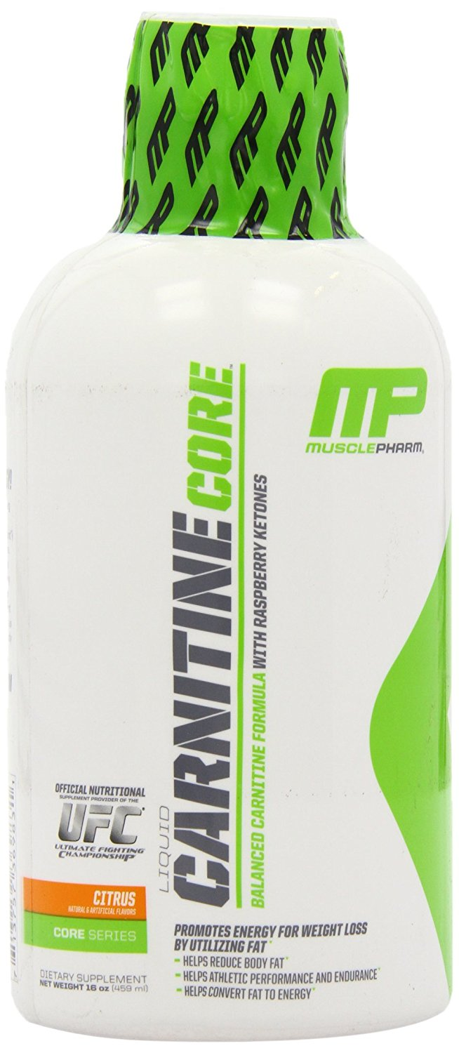Muscle Pharm Carnitine Core Liquid Diet Supplement