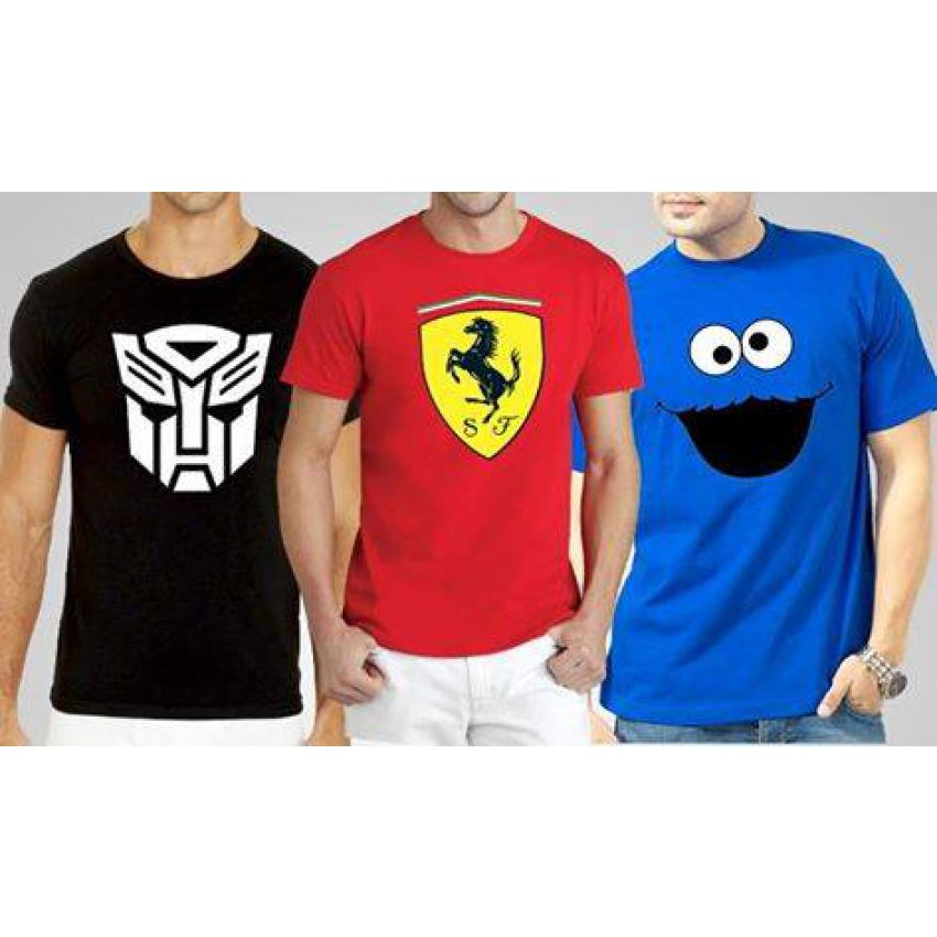 Pack of 03 High Quality Tshirts For Men