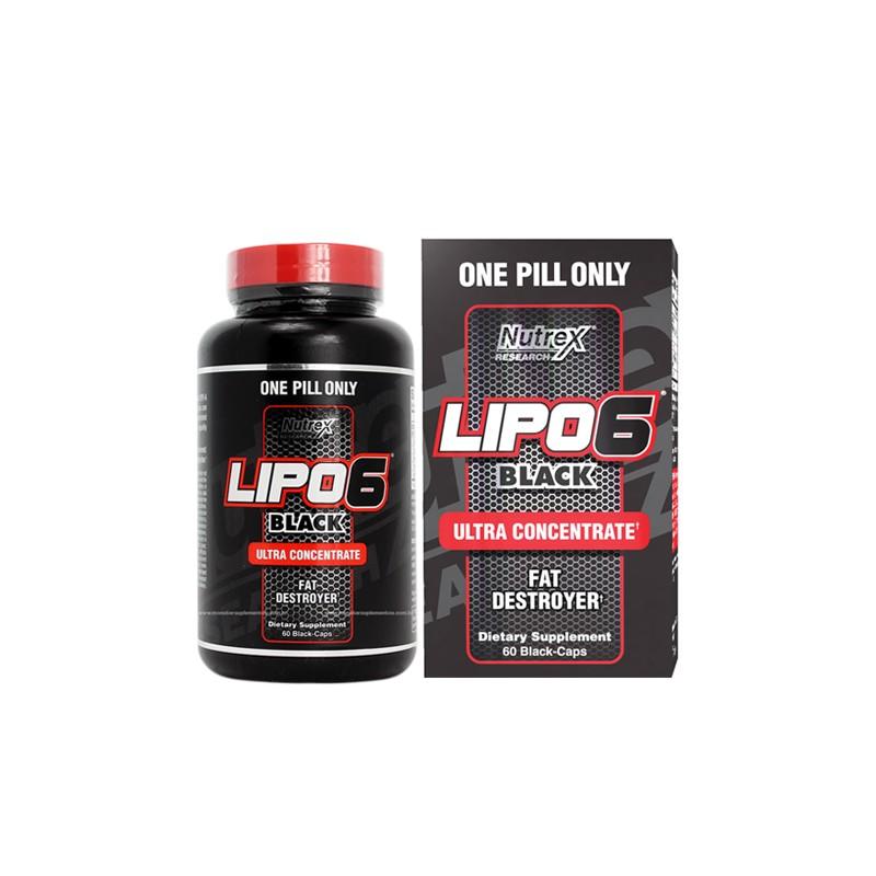 Nutrex lipo 6 Black Ultra Concentrate 1pill a day-