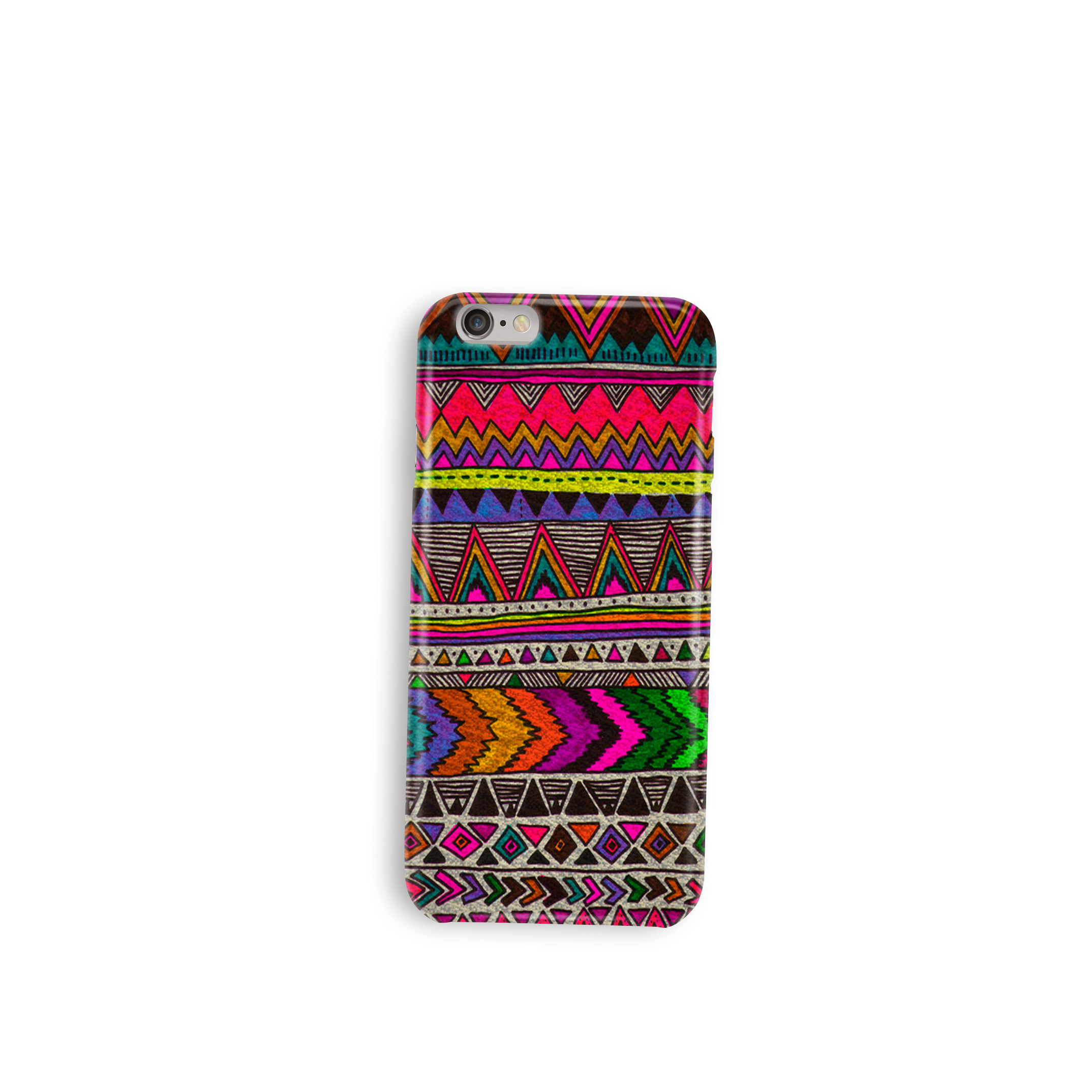 Color Patterns Silicon Customized Mobile Phone Cov