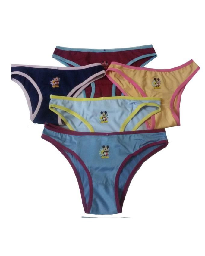 Pack of 5 - Multicolor - Panties for Women
