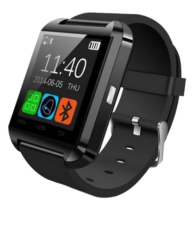 Touchscreen Bluetooth Smart Watch - Black