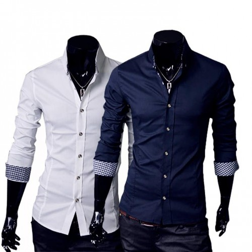 Stylish Dress Long Sleeve Casual Shirt