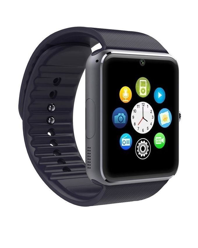 Pack-of-2---GT08-Smart-Watch-with-Mini-Bluetooth-Wireless-Headset---Black-6220.html