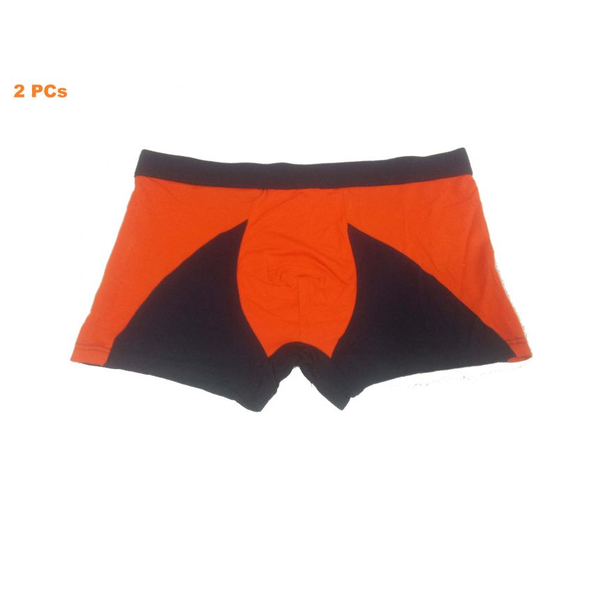 Random Colour New Boxer Shape Underwear For Men 2 PCs