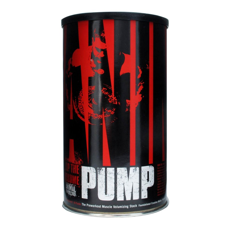 Universal Nutrition Animal Pump Pre-Workout, Nitri