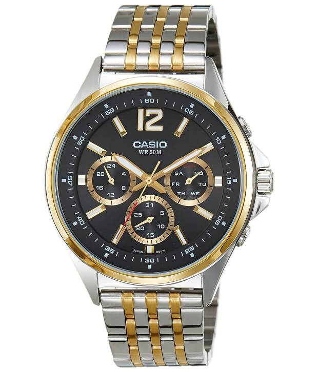 Casio Watch MTP-E303SG-1AV