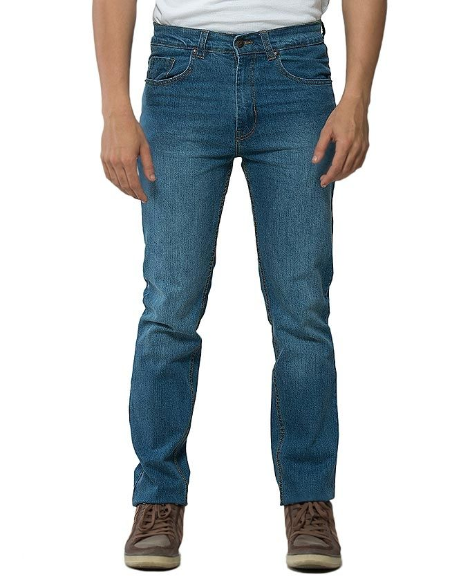 Mexican Jeans Sky Blue Stretchable Jeans for Men