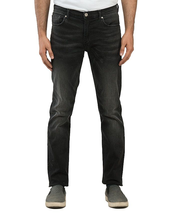 Hipster Black Denim Jeans for Men
