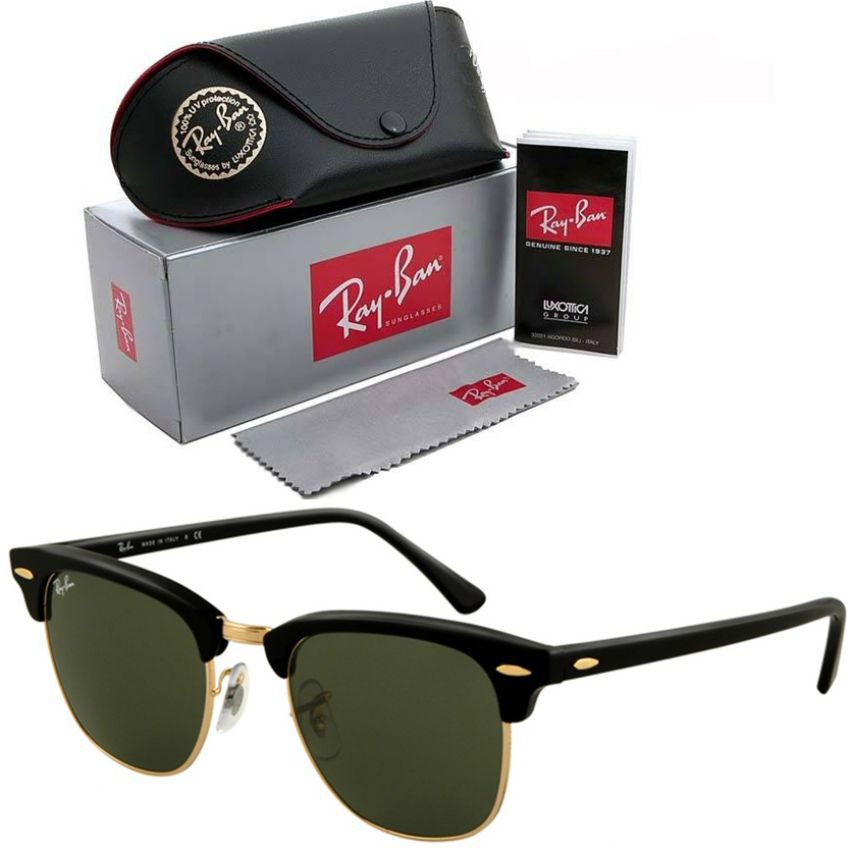 Ray Ban Sun Glasses for Men - Green