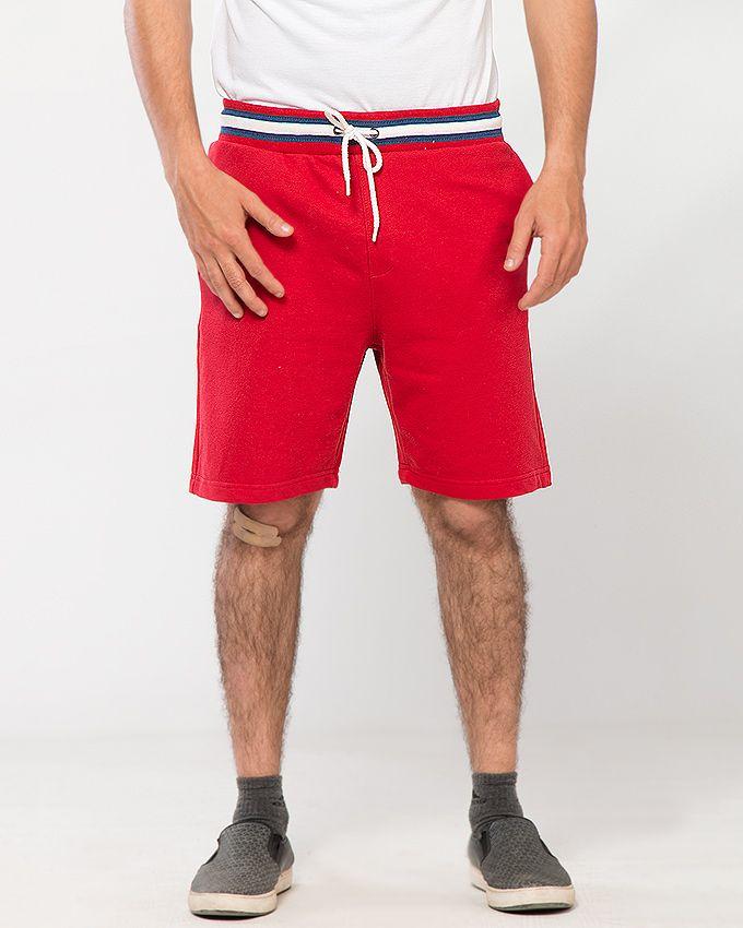 Red Terry Men's Short