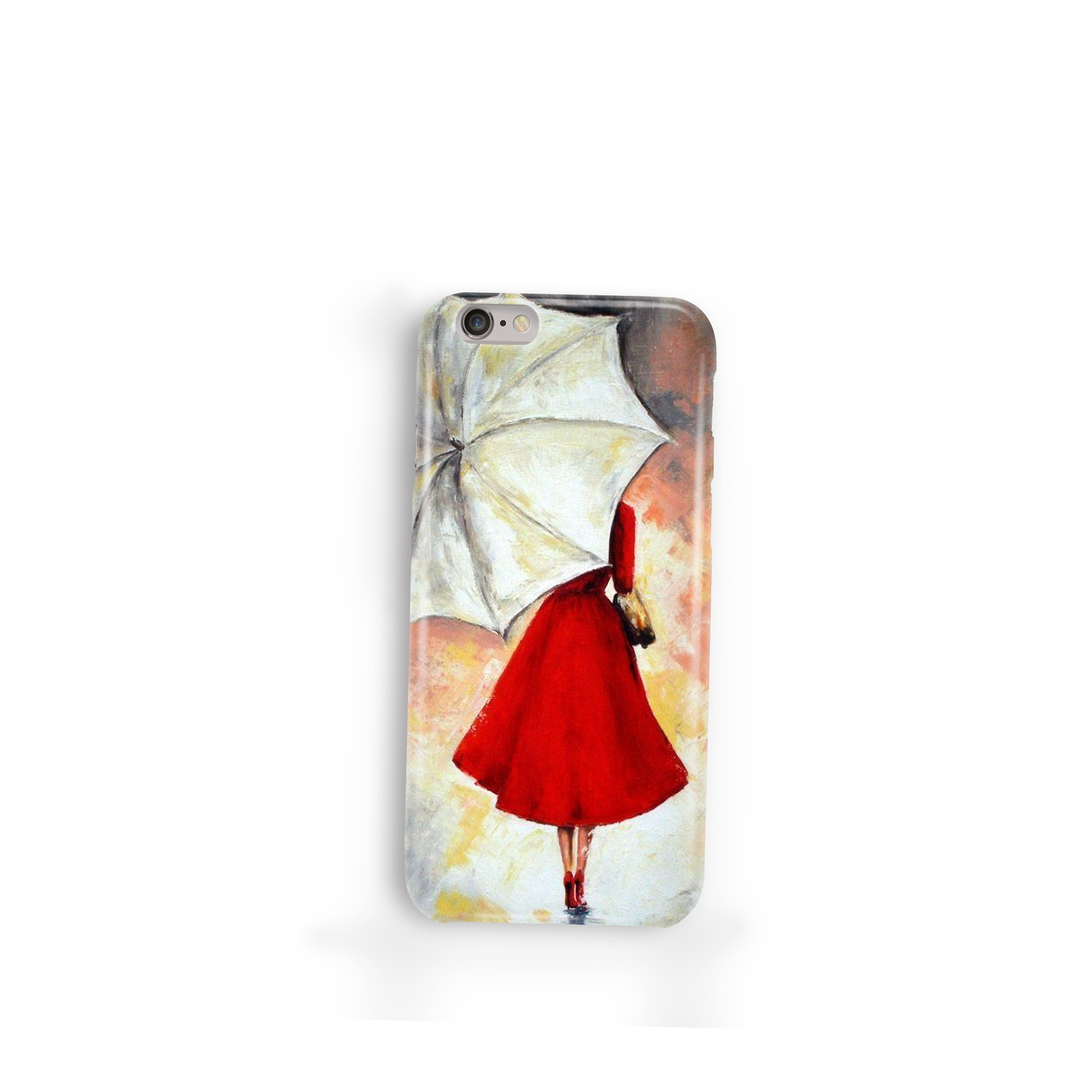 Art Silicon Customized Mobile Phone Cover