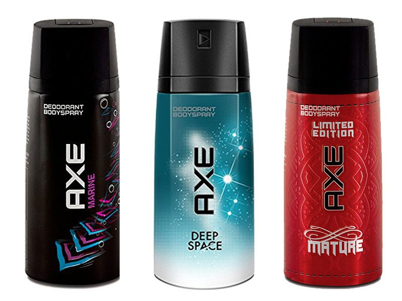 Pack of 3 AXE Body Spray