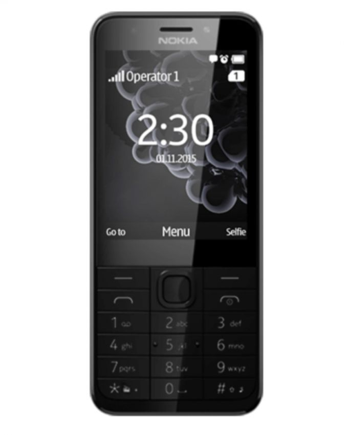 Microsoft Nokia 230 - Dual Sim - 2.8″ - Dark Silver