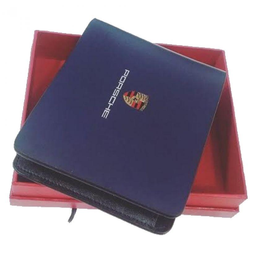 DP Blue Leather Wallet for Men