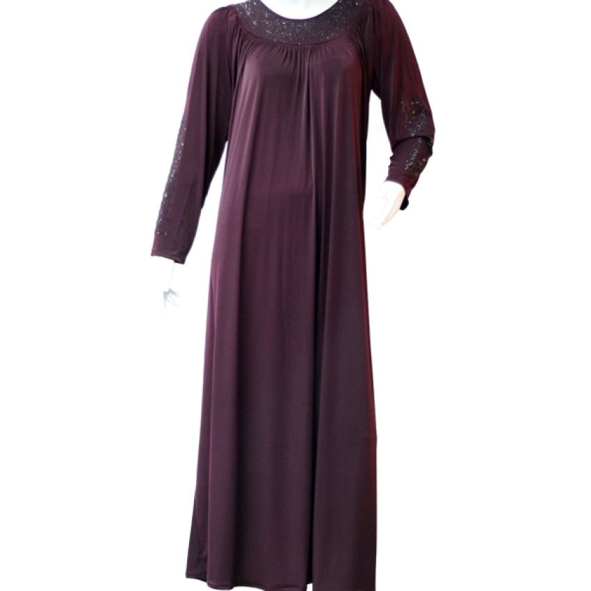 Purple Abaya for Women