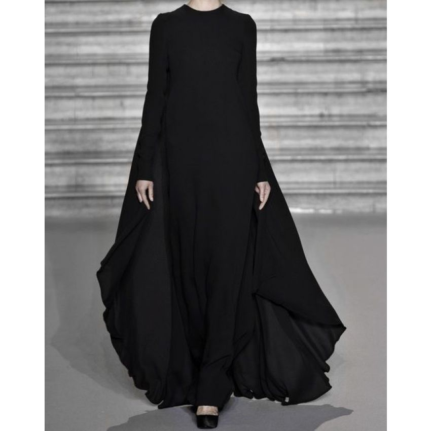 Plain Abaya for Women- Black