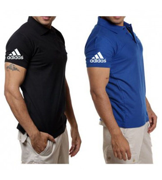 Pack Of 2 Adidas Polo T-Shirts For Boys (B.P)
