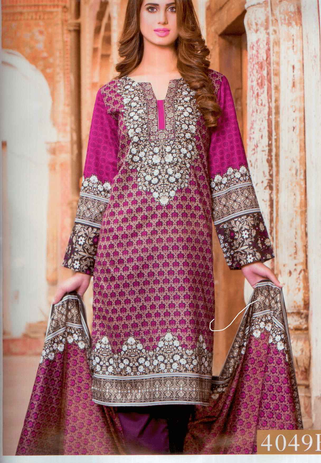 Aliza Collection- High quality printed summer lawn-Vol 4