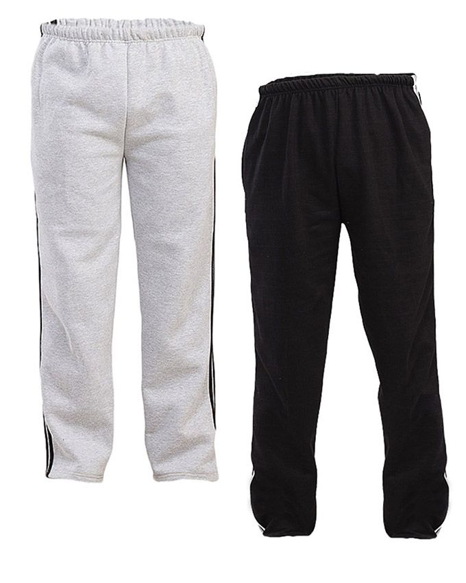 Aybeez Pack of 2 Fleece Trousers for Men