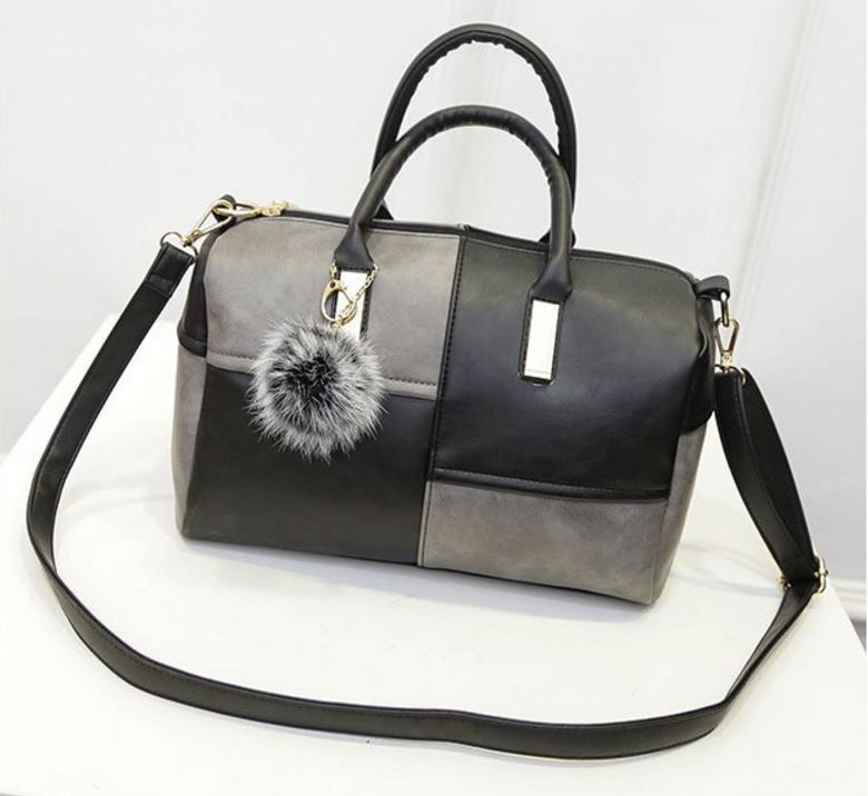 Crossbody Patchwork Pillow Handbag