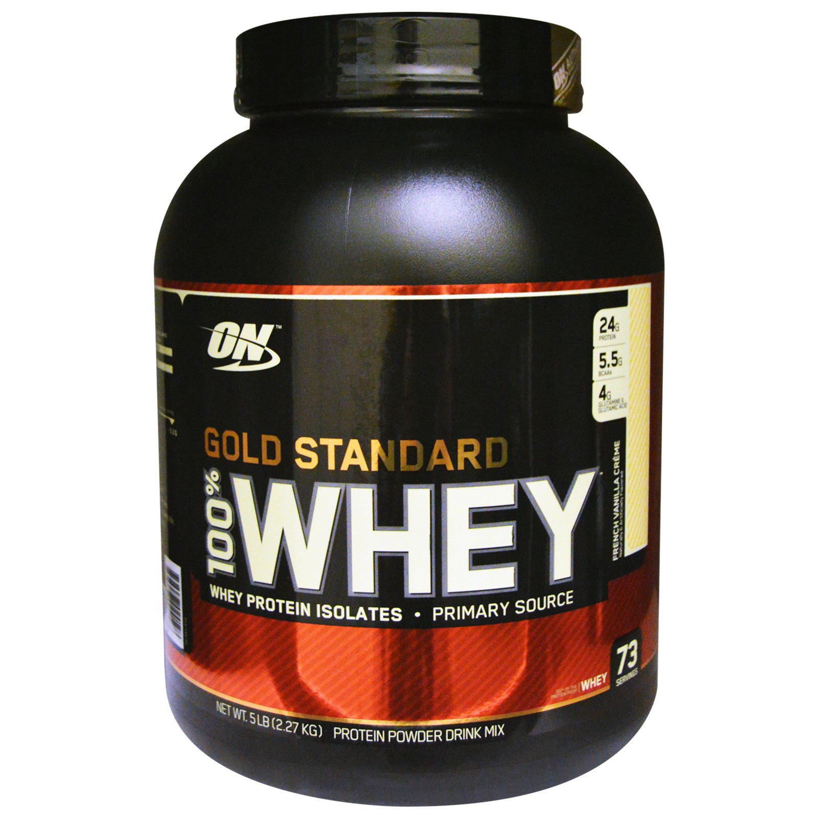 ON Gold Standard 100% Whey- 5lbs