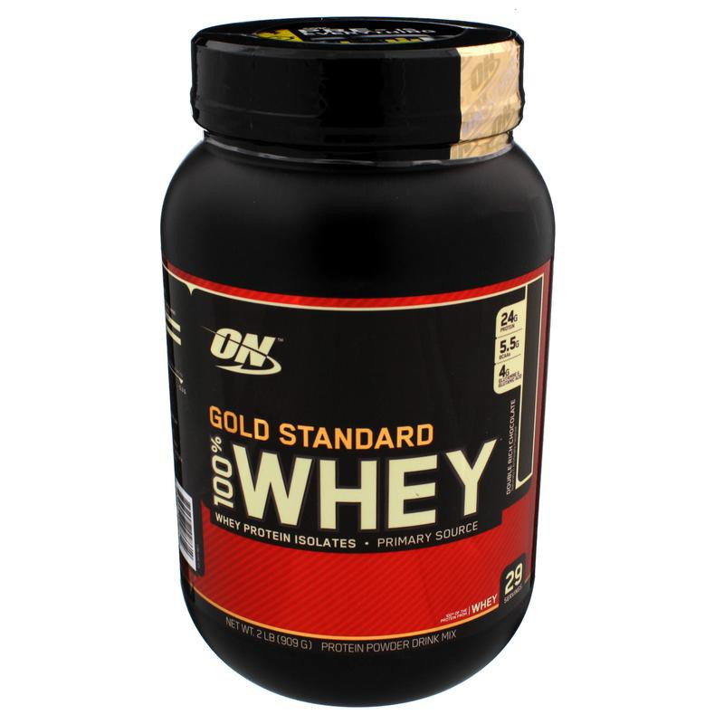 Optimum Nutrition Whey Protein - 2 Lb