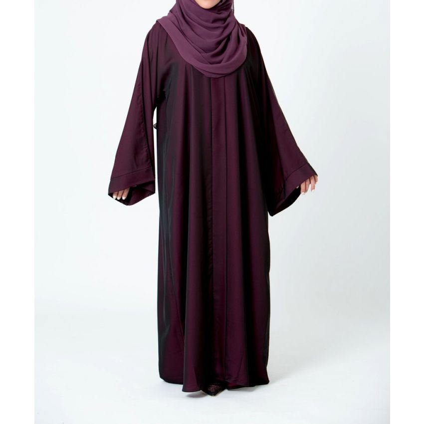 Nida-Fabric-Abaya-for-Women---Black-2554.html