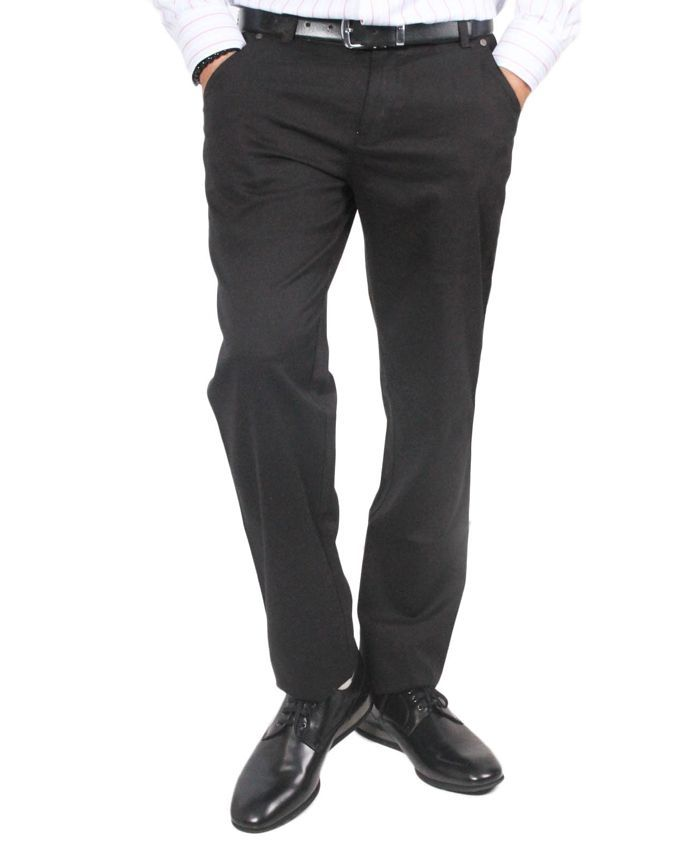 Black Stylish Chinos For Men