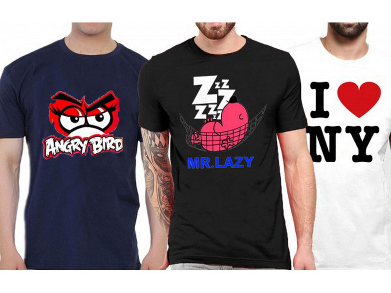 3 Graphic T-Shirts