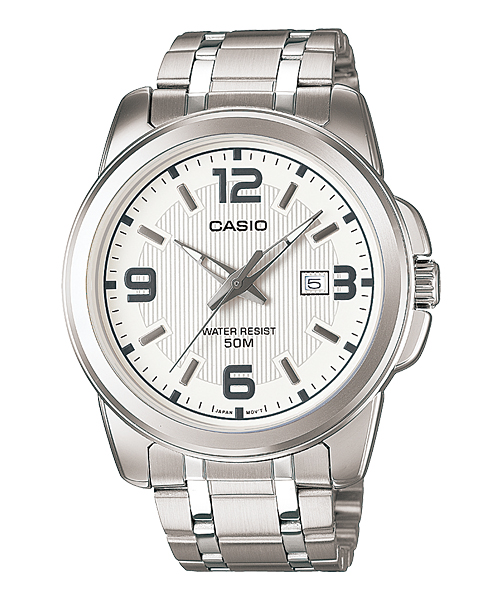 Casio Silver Watch-MTP-1314D-7AV