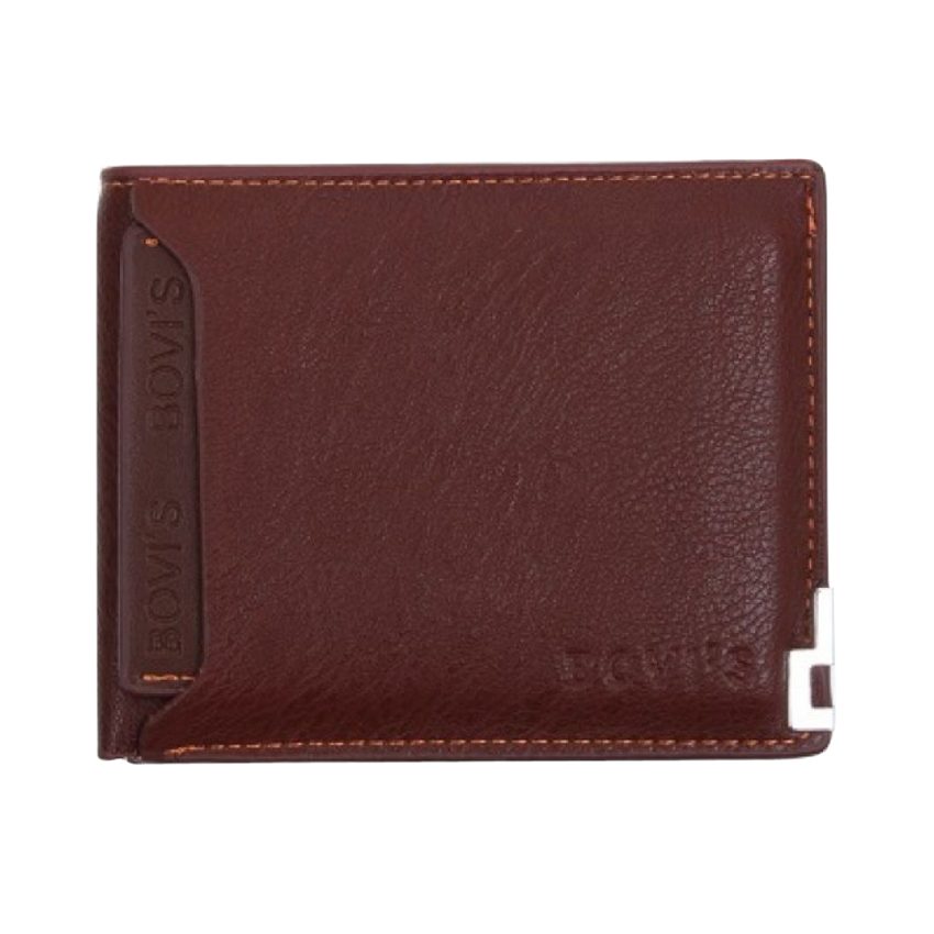 Bovi's Hickory Brown Wallet for Men
