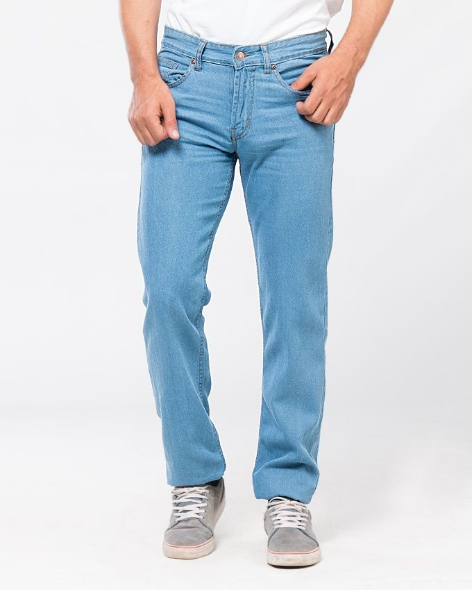 Ice Blue Jeans For Men