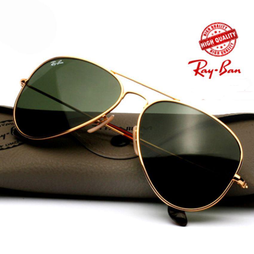 Rayban Black Shade Sunglasses for Men