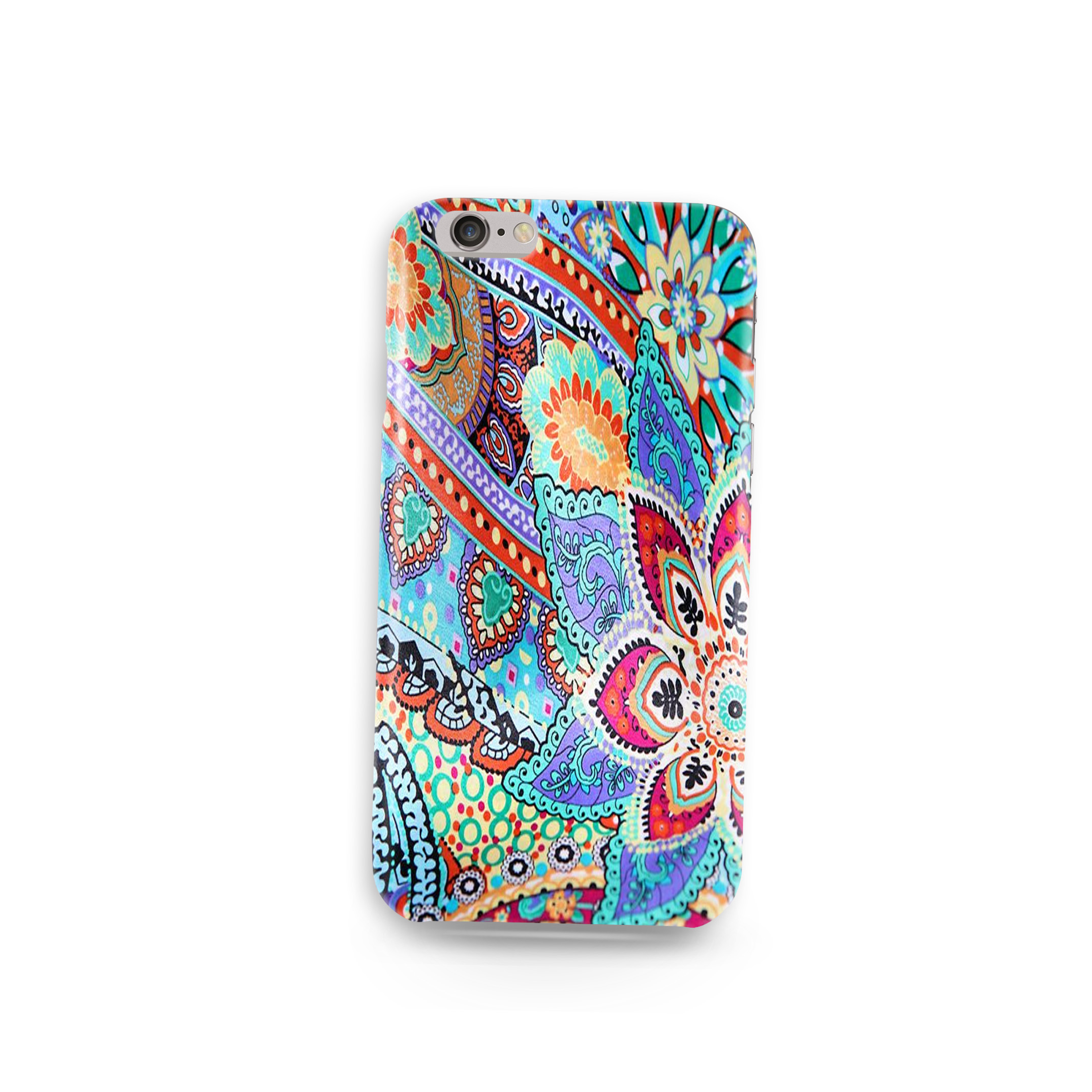 Bohemians Silicon Customized Mobile Phone Cover